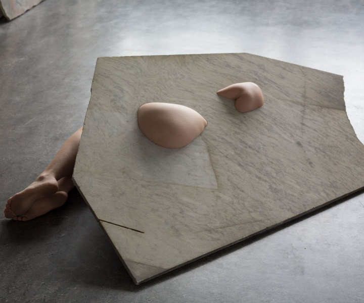 Fleeting Parts: Milena Naef Plays with Marble and Skin