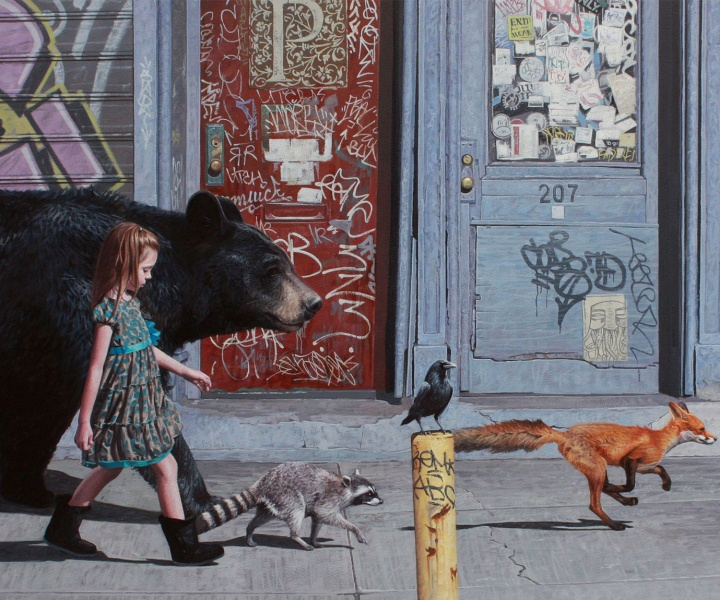 The Healing Lyricism of Kevin Peterson's Brooding Paintings