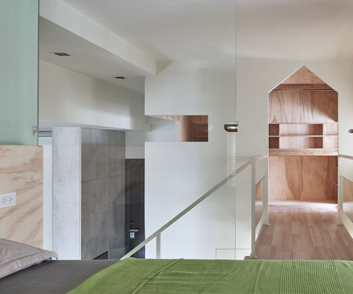 'Block Village' Apartment in Kaohsiung City, Taiwan by HAO Design