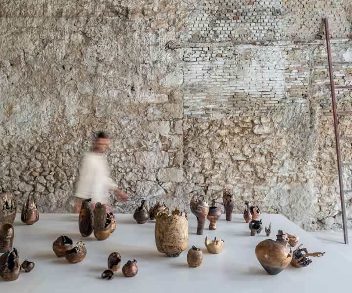 The Alchemical Talent of Omer Arbel is in Full Display at Carwan Gallery's New Athenian Home