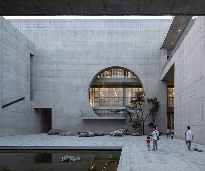 The Restrained Monumentality of Shou County Culture and Art Center