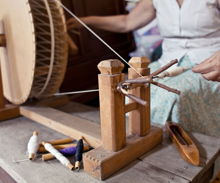 Textile Artist Julia Astreou is Keeping Cypriot Weaving Tradition Alive