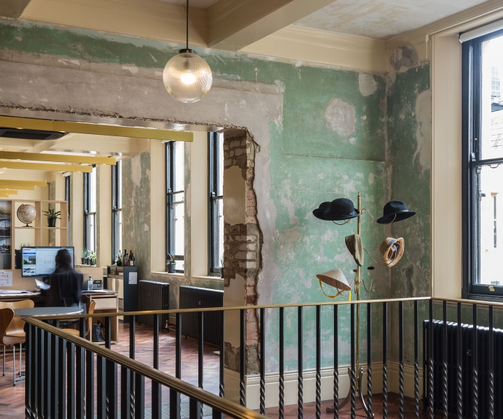Squire & Partners Transform an Edwardian Department Store into their New Headquarters