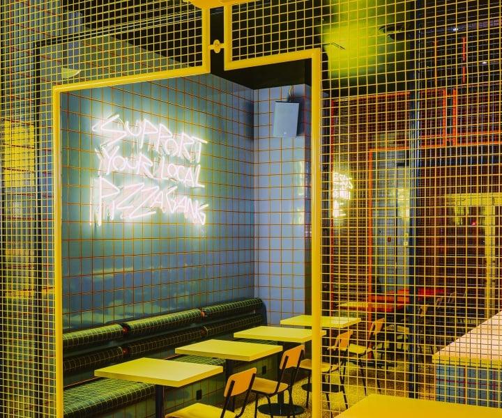 The Retro Exuberance of Wrocław's Biggy Eatery by BUCK.STUDIO