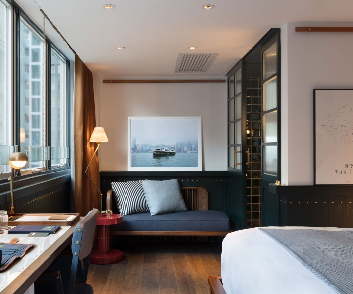 Maritime Nostalgia Infuses the Redesign of Hong Kong's Fleming Hotel