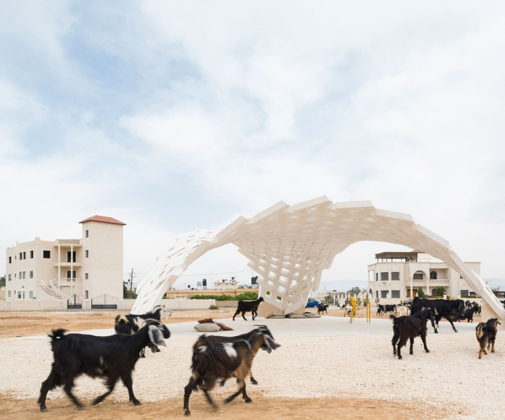 Stones that Matter: A Freestanding Dome Prototype in Jericho by AAU Anastas