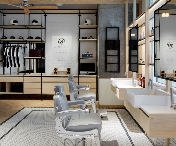 Clean-Cut Minimalism and Tradition at AKIN Barber & Shop in Dubai