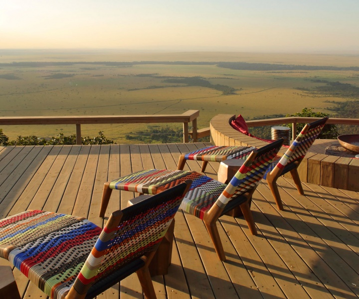 Out of Africa: Angama Mara Luxury Safari Lodge in Kenya
