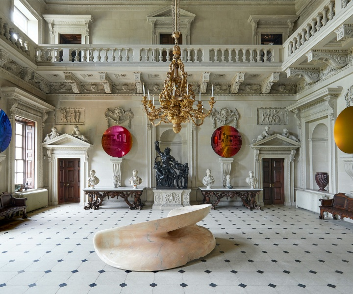 The Art of Anish Kapoor Meets the Stately Grandeur of Houghton Hall