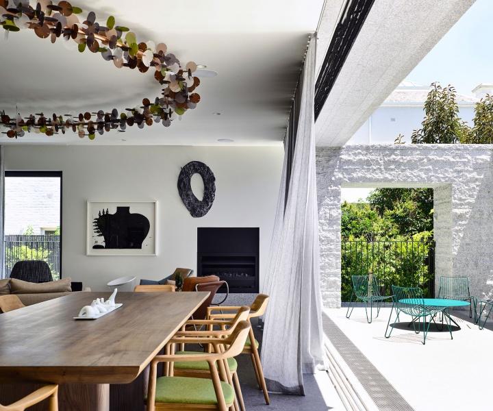 The Whimsical Lightness of Melbourne's Armadale Residence