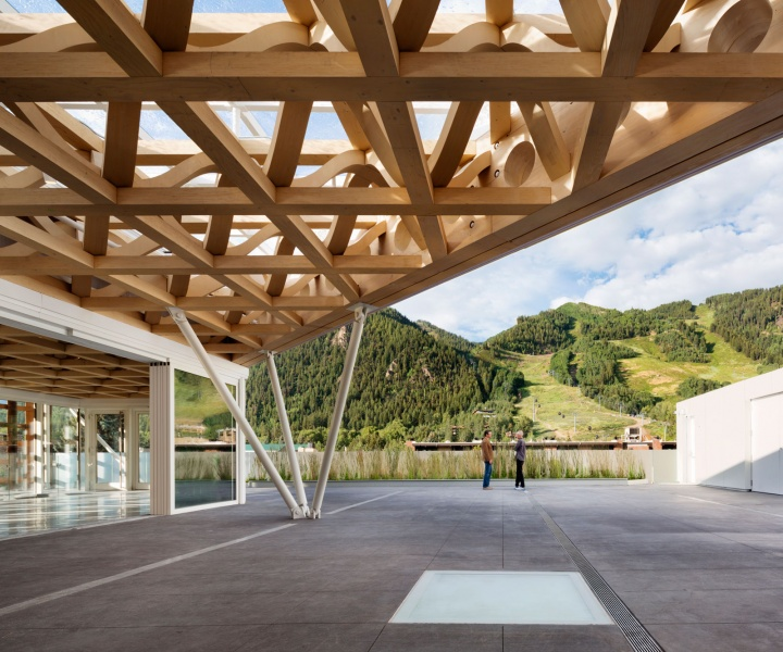Shigeru Ban Wraps Up the New Aspen Art Museum