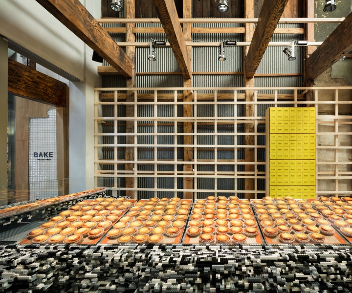 Brick in Japan: Yusuke Seki Fills Kyoto Bakery with Millions of Lego Bricks