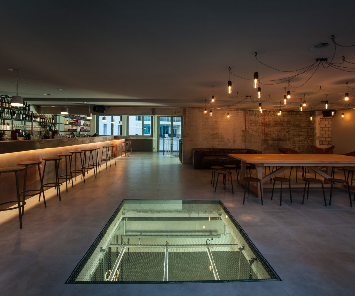Balboa Gym & Bar in Zurich by helsinkizurich Architects