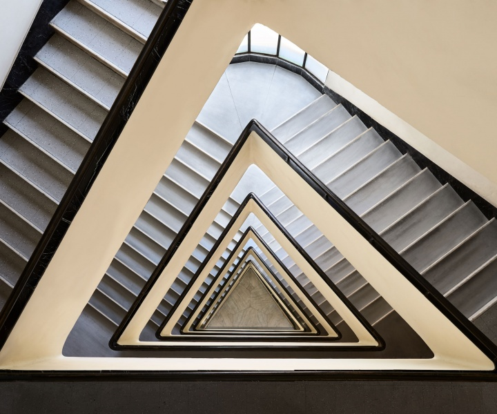 The Winding Staircases of Photographer Balint Alovits