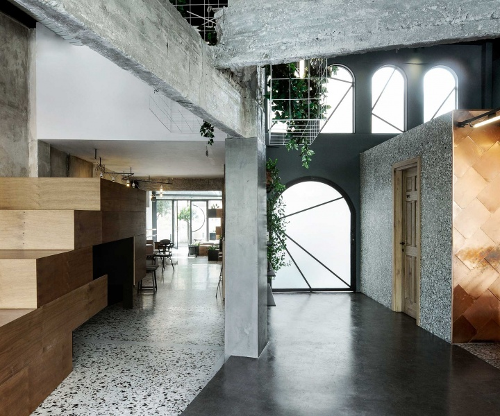 The Welcoming Urban Aesthetic of Black Drop in Kavala by Ark4lab of Architecture