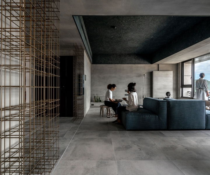 'Blue Eye' Apartment in Taiwan: A Minimalist Paean to Nature's Preciousness