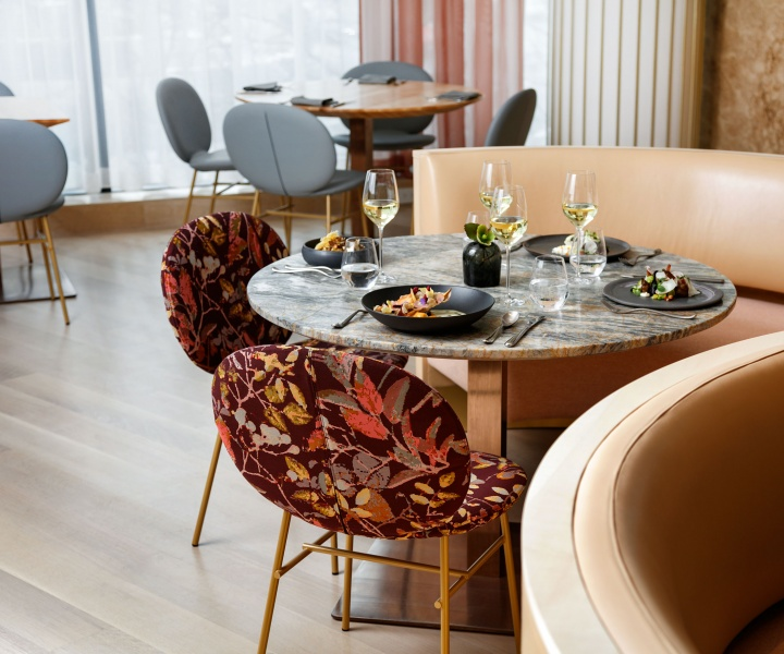 Indigenous Greenery Inspires the Sophistication of Botanist Restaurant by Ste. Marie Design