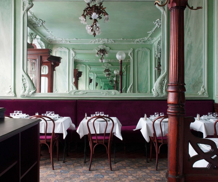'Bouillon Julien' in Paris Revels in its Art Nouveau Heritage