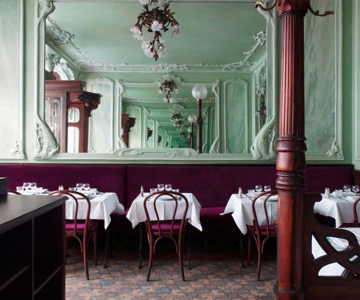 'Bouillon Julien' in Paris Revels in its Art Nouveau Heritage