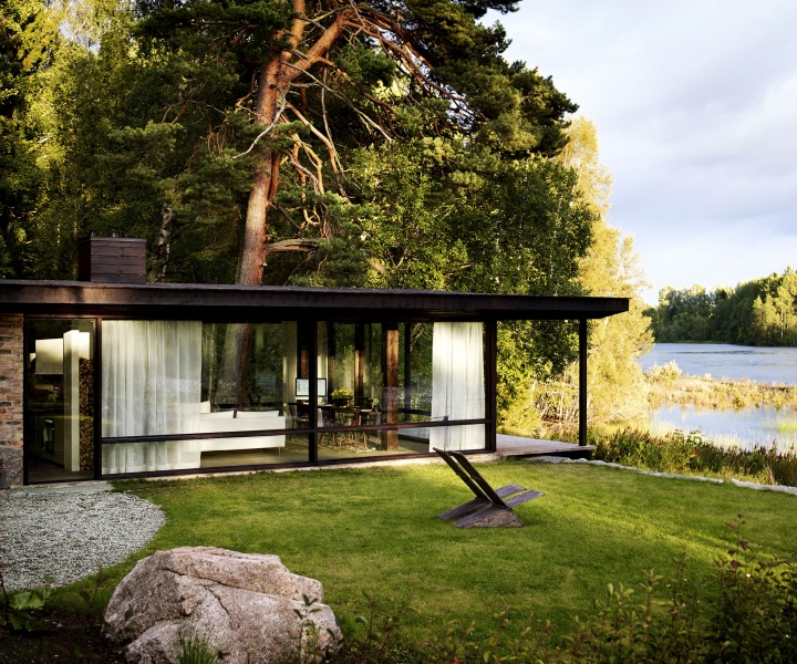 Life in a Box: the Summer House of Architect Buster Delin in Sweden