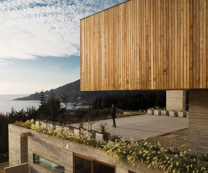 Casa El Pangue by Elton+Léniz Architects in Chile