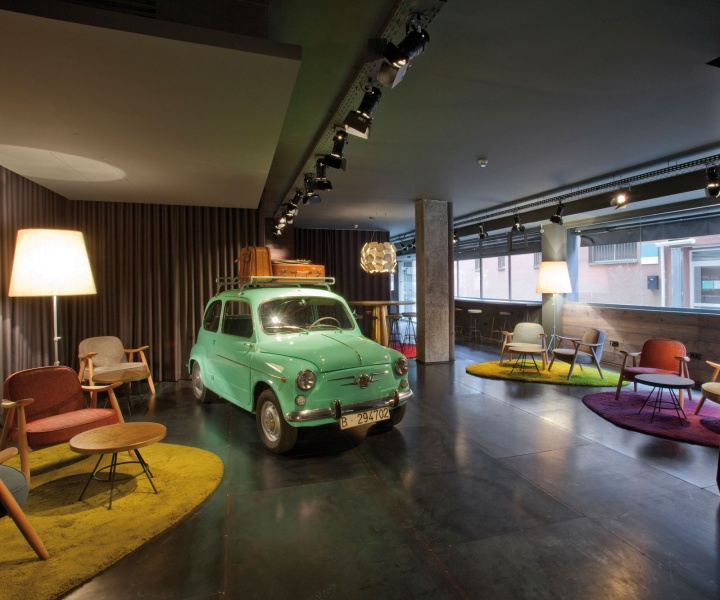 Chic & Basic Ramblas Hotel By Lagranja Design In Barcelona, Spain