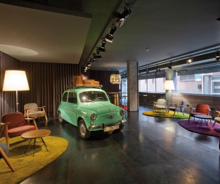 Chic & Basic Ramblas Hotel By Lagranja Design In Barcelona, Spain