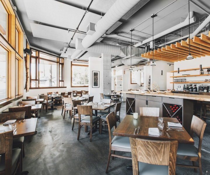 Copine Restaurant by Olson Kundig Architects near  Seattle's downtown, US