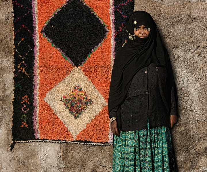 Couleurs Désert: The Visual History Woven into the Carpets of Morocco's Aït Khebbach