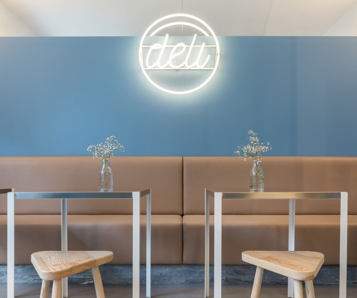 Pastel Fresh: Deli Canteen in Lisbon by DC.AD