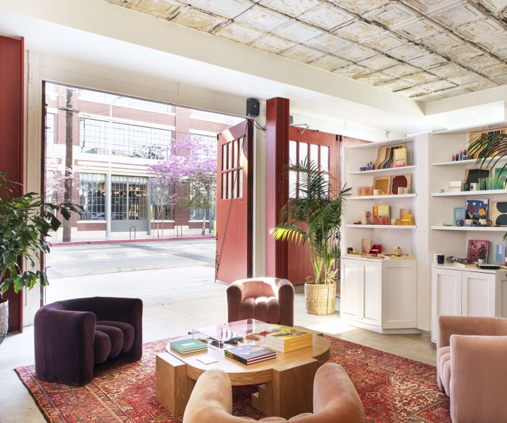 The Retro-Industrial Pizzazz of Firehouse Hotel in Los Angeles