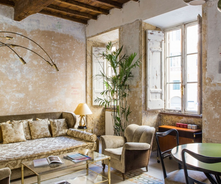 Rough Luxury in the Eternal City: G-Rough Hotel by Giorgia Cerulli