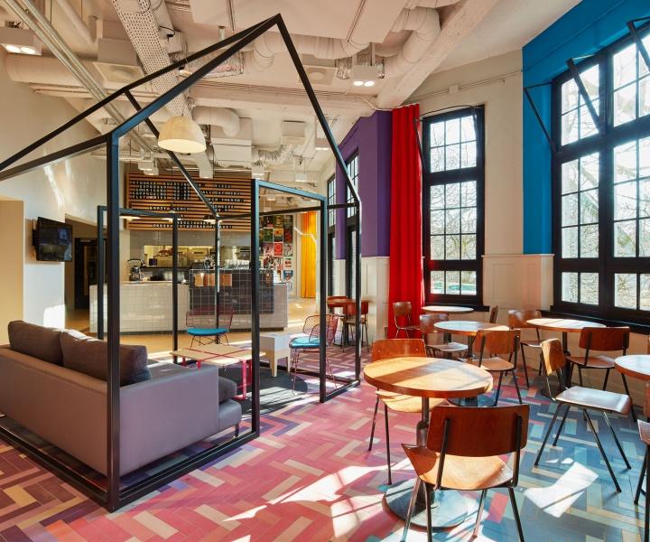 Generator Hostel Amsterdam Brings Dutch Art to Oosterpark