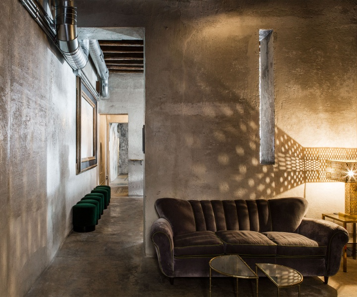 Sacripante Art Gallery in Rome, Italy by Giorgia Cerulli