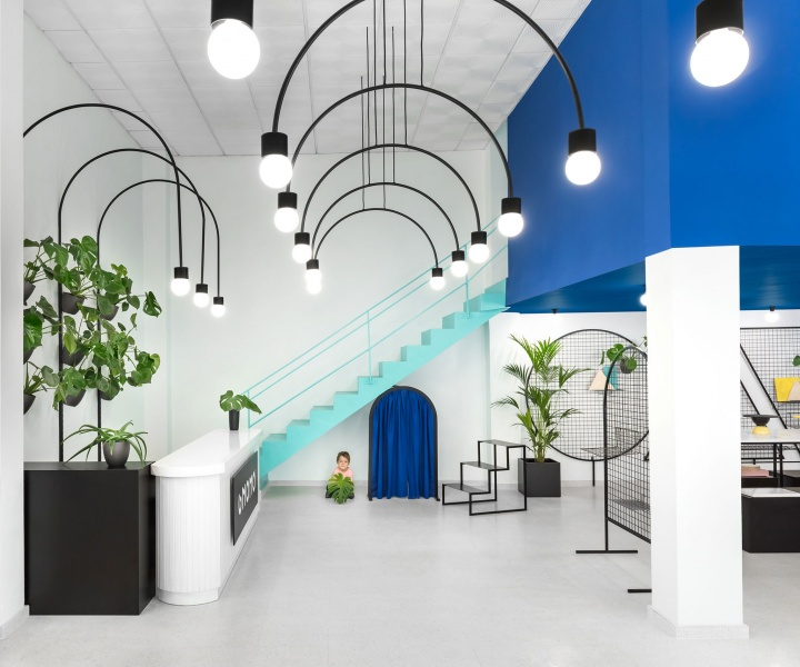 Masquespacio Designs a Quirky World for Gnomo in Valencia, Spain