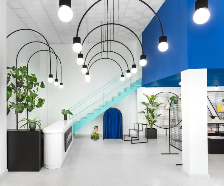 Masquespacio Designs a Quirky World for Gnomo in Valencia, Spain