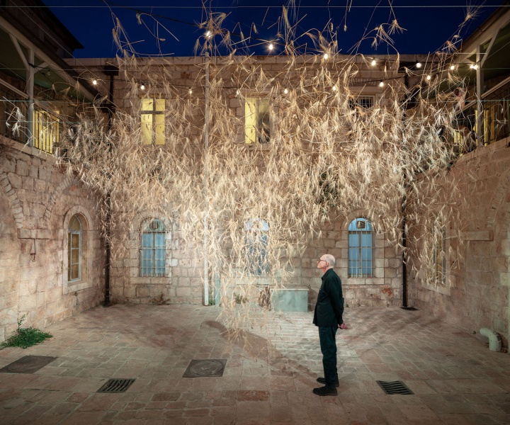 'Goren': An Ethereal Chandelier of Wheat in Ancient Jerusalem