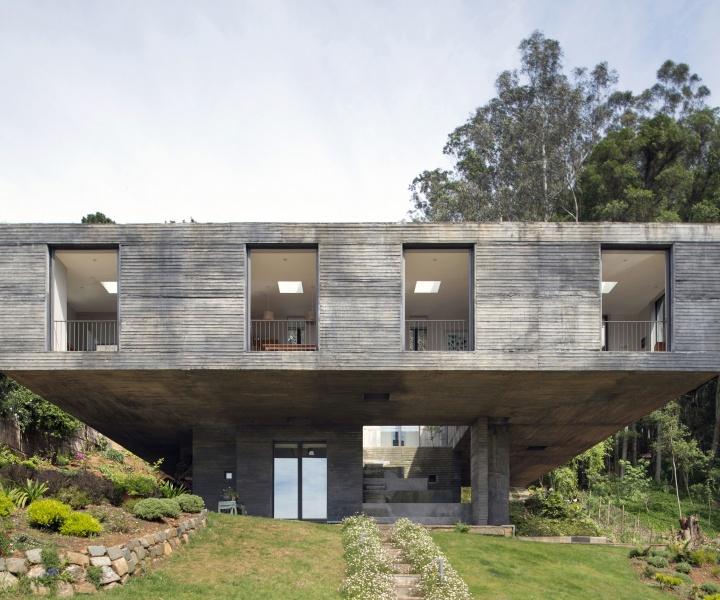 The Perfect Balance of Guna House by Pezo von Ellrichshausen