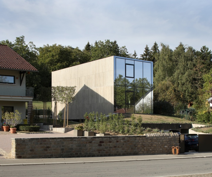 Hercule House Makes a Bold, Sculptural Statement in Suburban Luxembourg