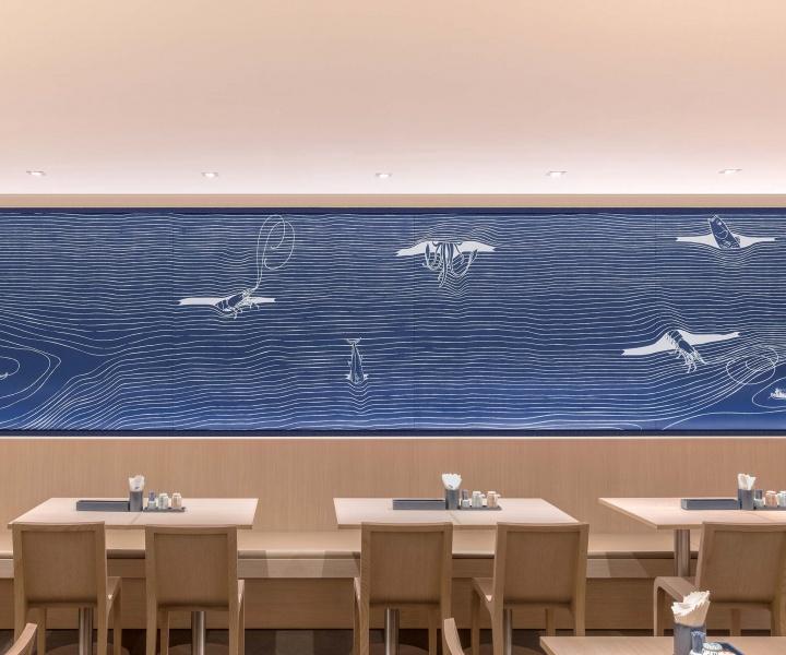 Graphical Minimalism Meets Japanese Folklore in Hokkaidon Restaurant