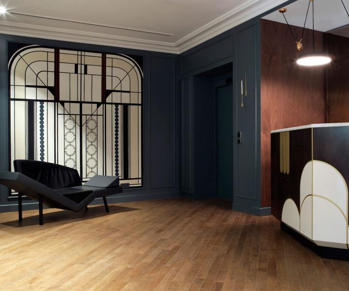 Art Deco Thrills at Hotel Bachaumont, Paris