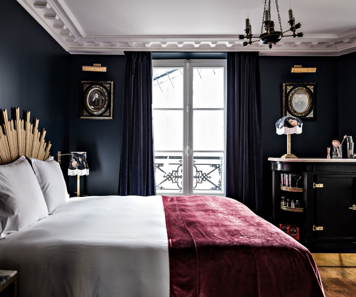 A Velvet Stroke at the Hôtel Providence, Paris