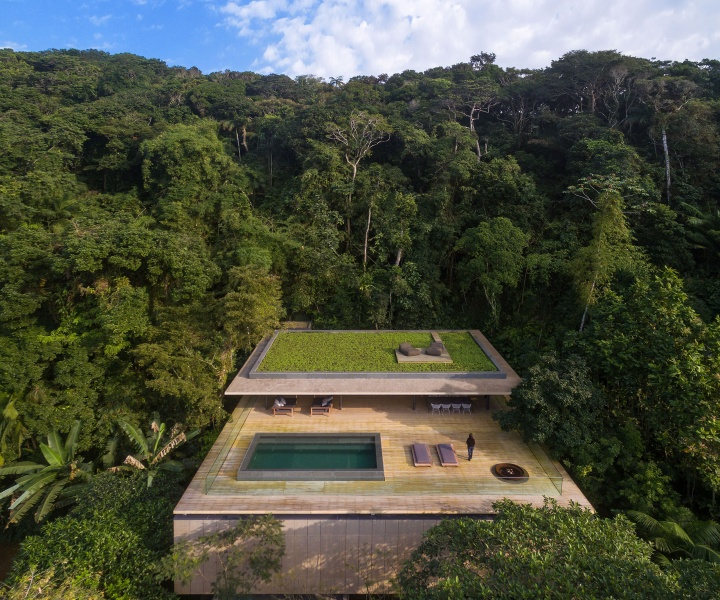 At Home In the Jungle: Casa na Mata by Studio MK27 in Guarujá