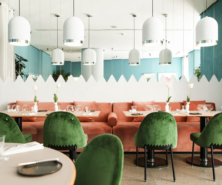 Tasting Colours: Kaléo Restaurant in Beirut by david/nicolas