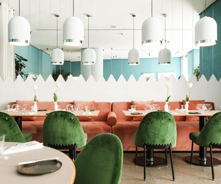 Tasting Colours: Kaléo Restaurant in Beirut by david/nicolas