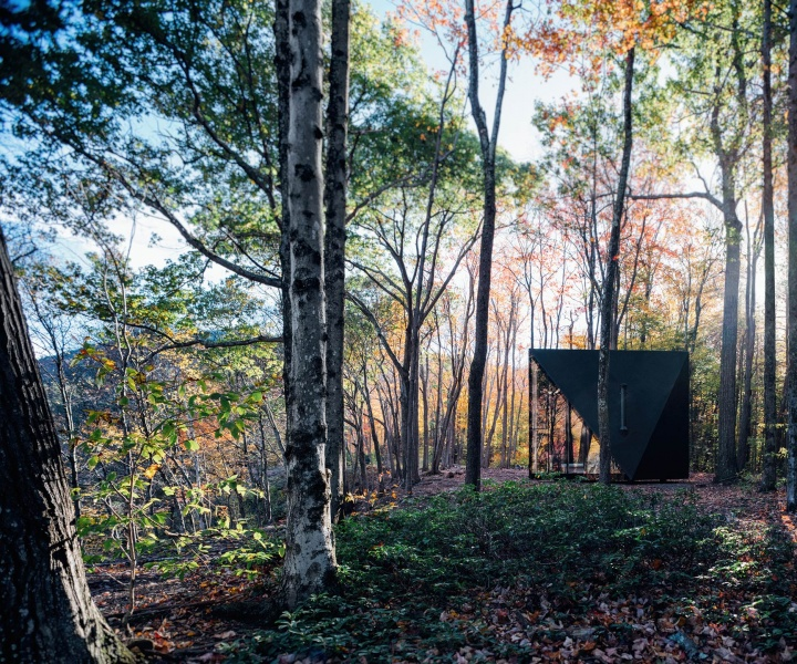 BIG Goes Small for Klein's Prototype Cabin in the Woods