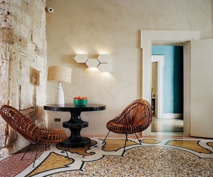 India Mahdavi Imbues Le Cloître Hotel in Arles with Painterly Flair