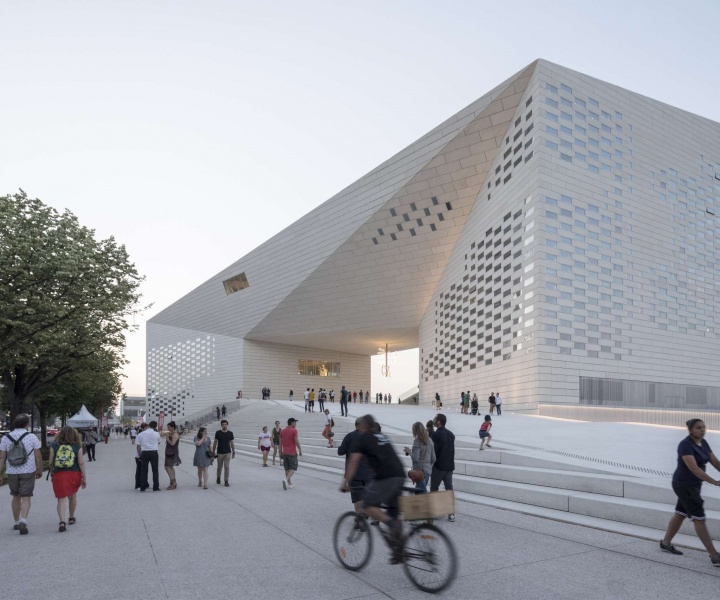 MÉCA: Bordeaux's Monumental Cultural Gateway by BIG and Freaks Architects