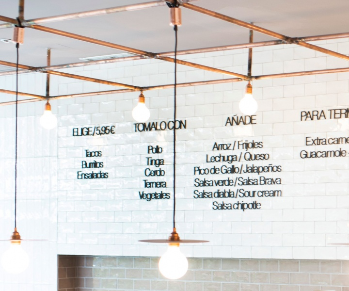 """""""Mexican Factory"""" Restaurant in Madrid, Spain by Plantea Architectura"""