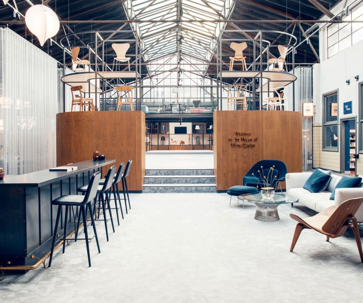 MisterDesign's New Dutch Showroom Transforms a 1930s Car Factory